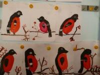 """Тема недели была (11-15.12.17) """"Зимующие птицы""""."""