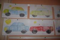 """Тема недели (15-19.01.) была """"Транспорт""""."""