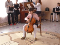 Концерт учеников музыкальной школы №1